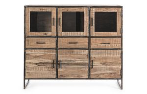 Sideboard 6A-3C Elmer, Sideboard with 6 doors and 3 drawers