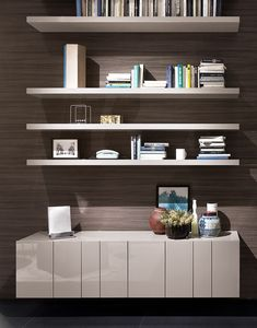 Busnelli, DESIGN-Bookcases and containers