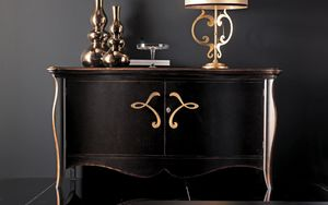 Sofia Art. 550, Sideboard with sinuous lines