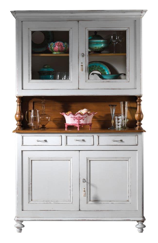 Sophie BR.0054, Venetian cupboard, classic style