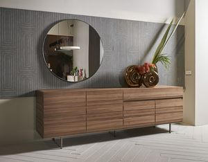 STRIPE sideboard comp.02, Sideboard with minimal design