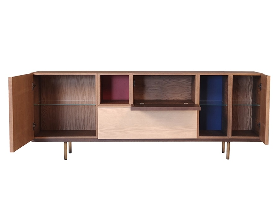 Swing 1733/F, Wooden sideboard