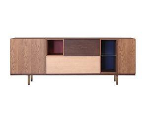 Swing 1733/F, Wooden sideboard