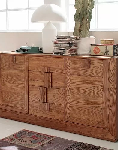 Tea, Sideboard with large handles