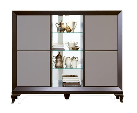 Tzsar cupboard with shelves, Cupboard with push and pull doors