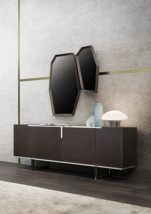 Veronique, Sideboard with a minimal design