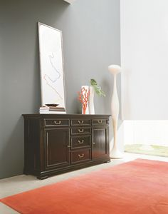 Villa Borghese sideboard 7370, Classic sideboard available in various finishes