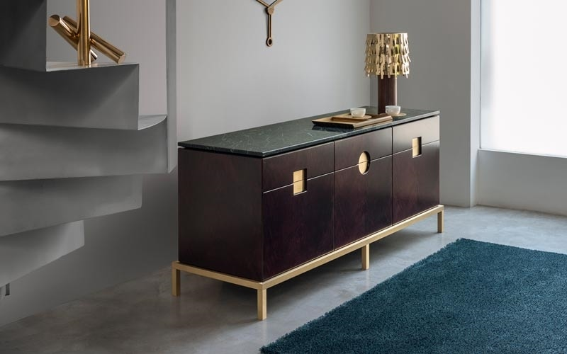 Zuan Dining Cabinet, Elegant cabinet with essential lines