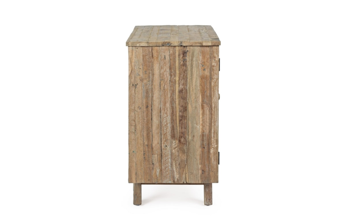 Sideboard 1A-3C Rania, Sideboard with natural rustic finish