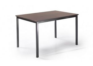525, Table with metal legs and customizable top