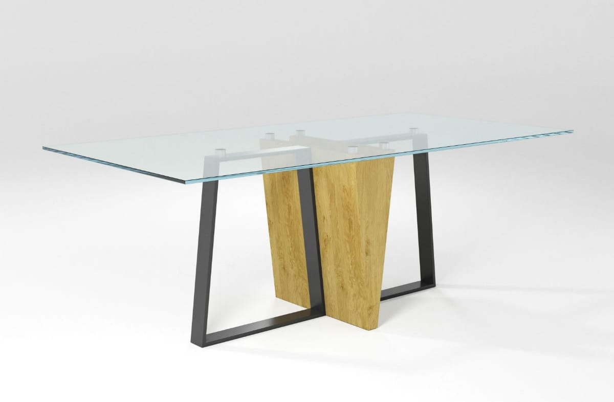 Pungolo, Dining table with iron base