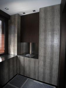 Art. A01, Modern kitchen with decorative doors