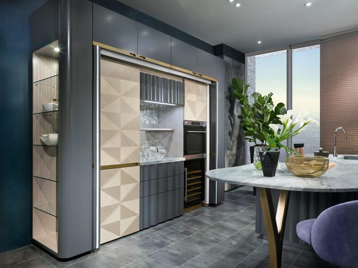 CUC03B Optical Skin kitchen, Kitchen island