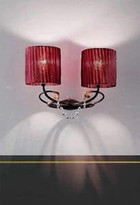 Aida applique, Wall lamps for luxury residences and hotels