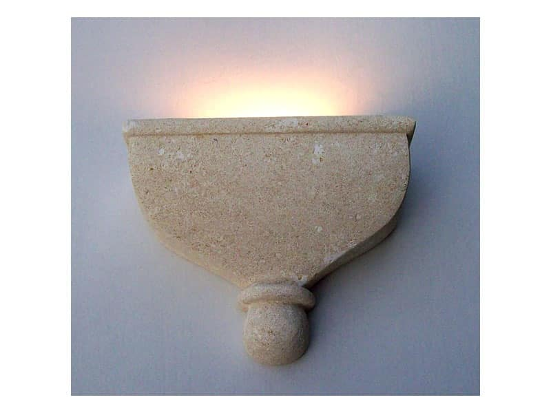 Catleia, Wall lamp, made of stone