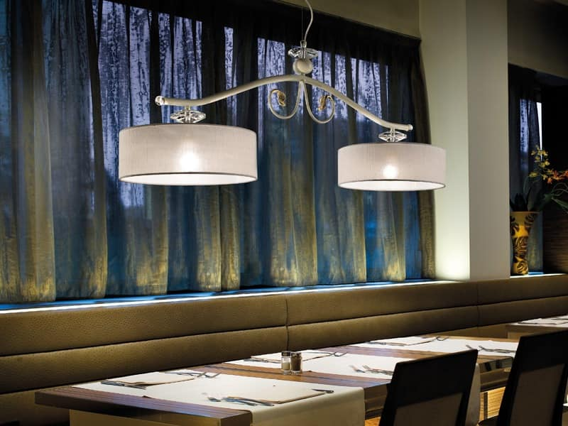 Charme chandelier, Lamp in classic style, ideal for restaurants