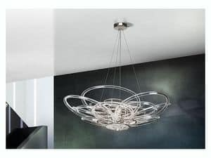 Flair chandelier, Pendant lamp for modern offices and villas