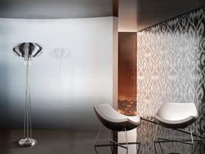 Full Moon floor lamp, Refined floor lamp for offices in a modern style