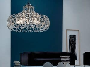 Gemini chandelier, Pendant lamp with 9 lights for Modern bedrooms