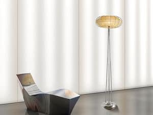Moon floor lamp, Floor lamps with 1 light, for fine restaurants