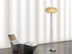 Moon floor lamp, Floor lamps with 1 light, for fine restaurants
