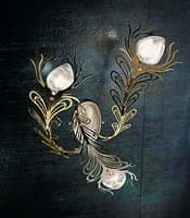 Musa applique, Wall lighting in various versions, modern style