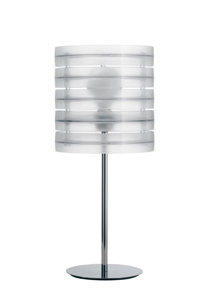 Ring, Height joinable lamp in polymer
