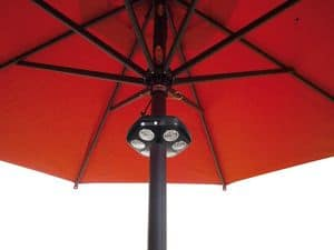 Sole Light, Parasol lamp, LED lighting