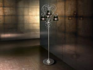 Venezia floor lamp, Iron modern floor lamp, for rich living rooms