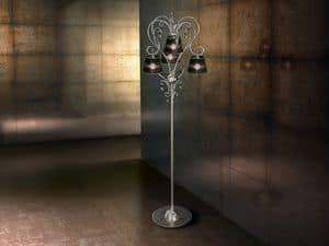 Venezia floor lamp, Iron modern floor lamp, for rich living rooms