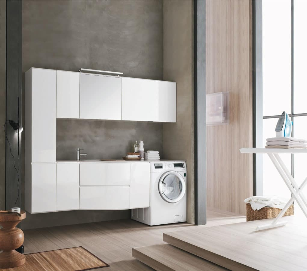 Laundry Furniture With Wall Cupboards Idfdesign
