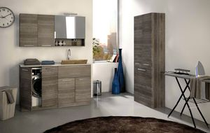 LAVANDERIA 01, Wooden laundry cabinet