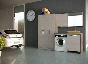 LAVANDERIA 07, Modular wooden laundry unit