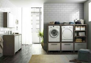 LAVANDERIA 10, Modular laundry room with sink