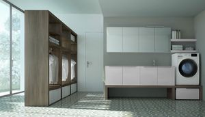 Spazio Time comp.06, Functional furniture for laundry