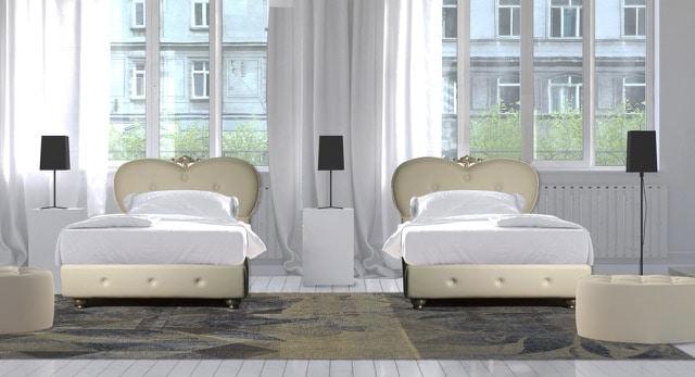 Art. 2623 Melina, Bed upholstered eco-leather
