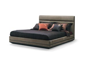 Dragonfly Art. D601, Elegant leather bed