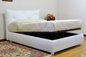 Duty, Design double bed with a very padded modern headboard