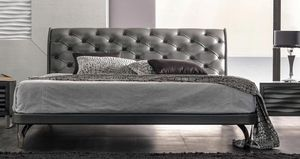 Keope Art. 894, Bed covered in leather