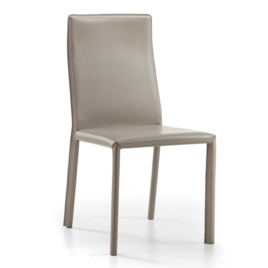 Ara, Chair fully covered in bonded leather