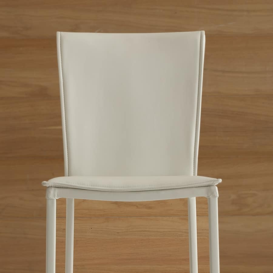 Art. 234 Vogue, Padded chair for dining room, covered in faux leather