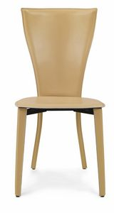 Carlotta chair 10.0035, Chair completely covered in leather