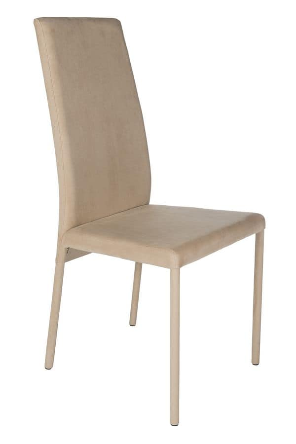 Conegliano, Upholstered chair suited for home
