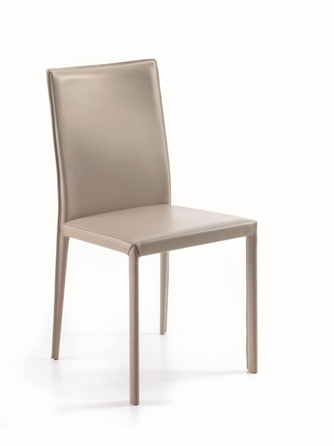Gaiarine low, Modern chair for dining room