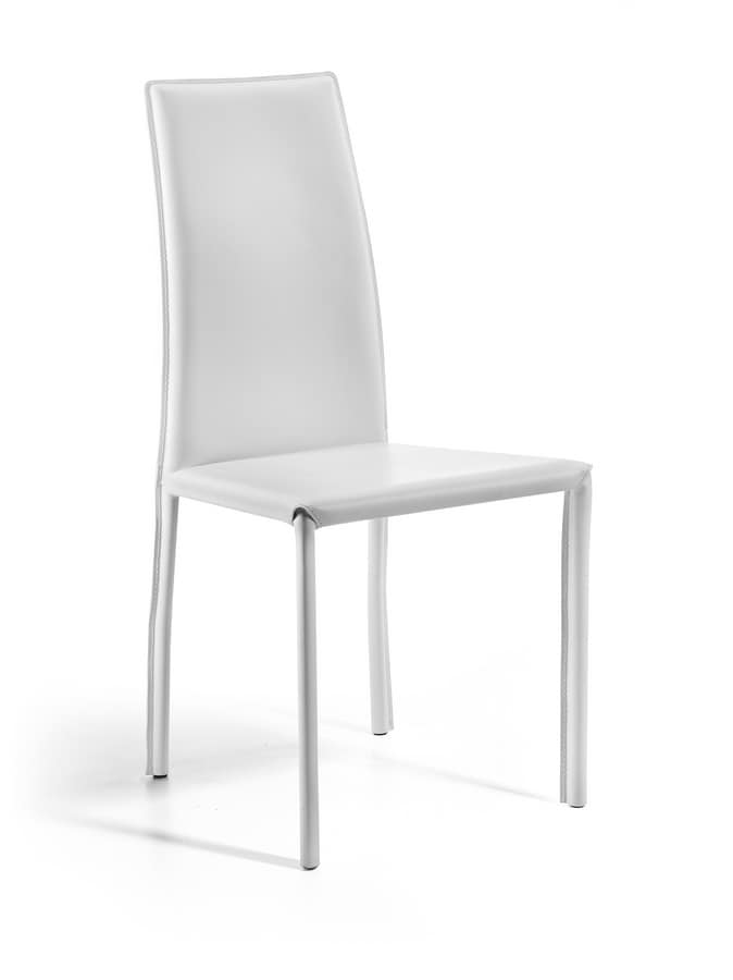 Maser, All covered chair, with tubular structure