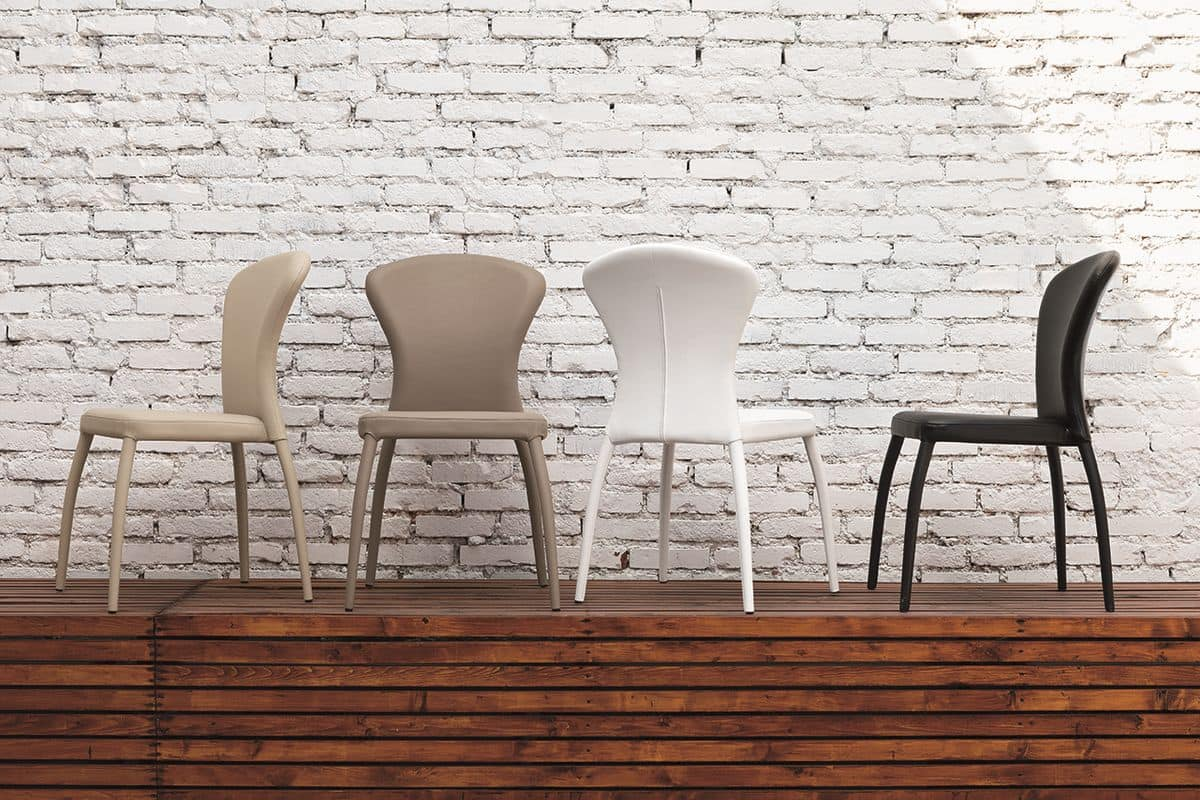 MONACO SE605, Modern chair for dining rooms and bars