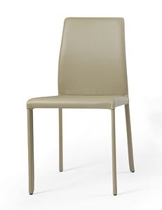 Nunes, Eco-leather chair, for dining room