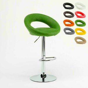 Design kitchen high stool Chicago � SGA054CHI, Sturdy stool in modern style, with ergonomic seat