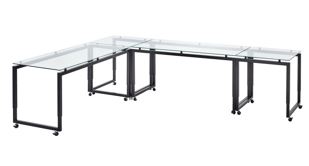 Delicieux Buffet Roll, Height Adjustable Tables With Wheels