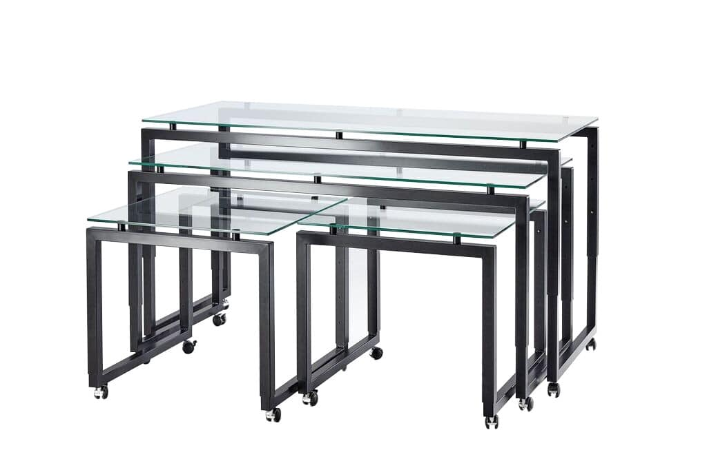 Buffet Roll, Height Adjustable Tables With Wheels